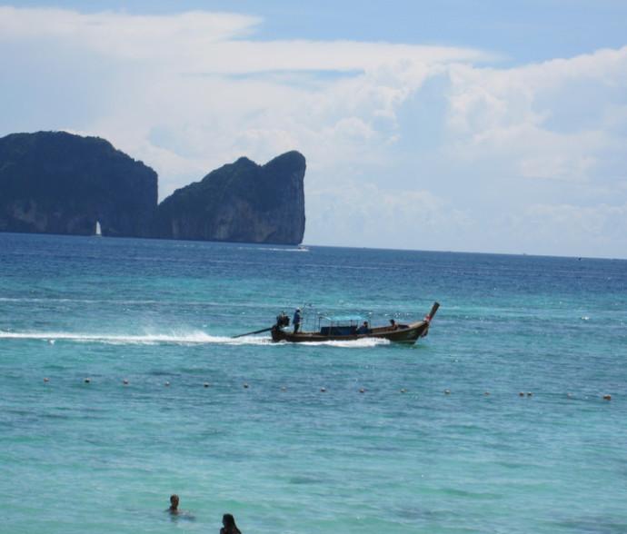 Vaincre sa peur de l'eau à Koh Phi Phi